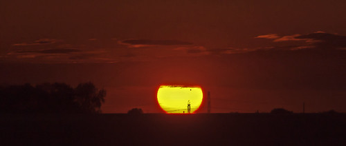 Venus Visible at Sunset | by Tom Gill.