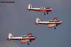 G-BWUT WZ879 X & G-BXCV WP929 & G-BXDI WD373 12 - Private - De Havilland Canada DHC-1 Chipmunk 22 - Duxford - 071014 - Steven Gray - IMG_1625