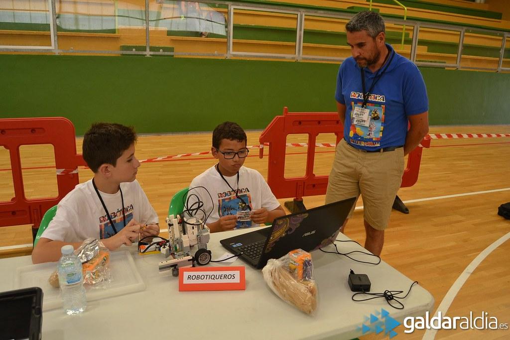 Olimpiadas de robótica, Gáldar 2016