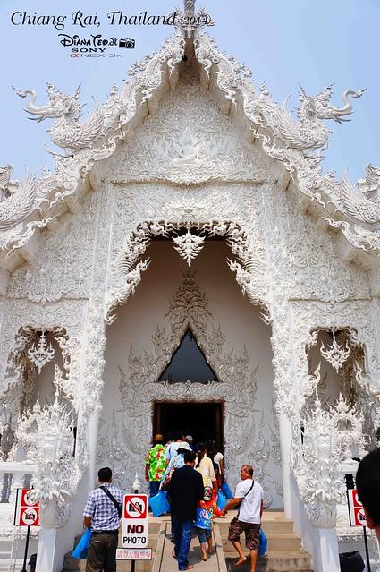Thailand - Chiang Rai Wat Rong Khun 05