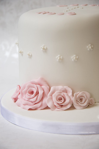 Christening Cake - Edith Rose | by Crumbs & Corkscrews