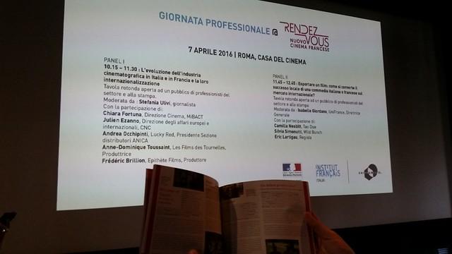 #RVcinema 2016 - Matinée professionelle
