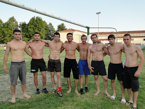 Wrestlers and friends | by d.mavro