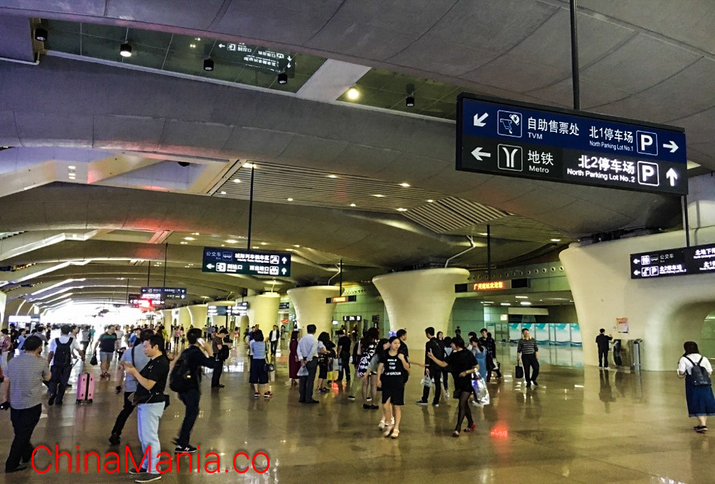 Shenzhen North station (深圳北)