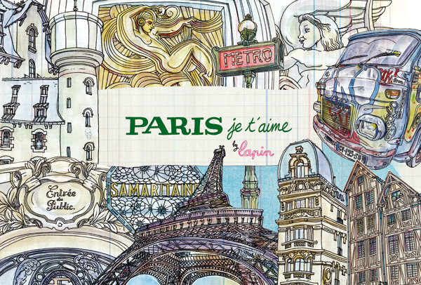 """paris, je t'aime"" launching"