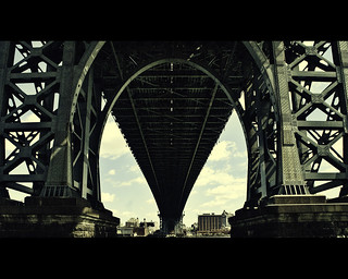 The Williamsburgh Bridge | by hafeez raji