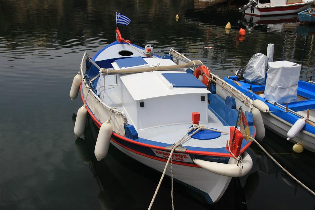 Agios Nikolaos Toy Boat
