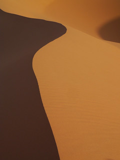Sahara morning, Morocco with Panasonic GX1 and Leica 45mm lens | by Cameralabs