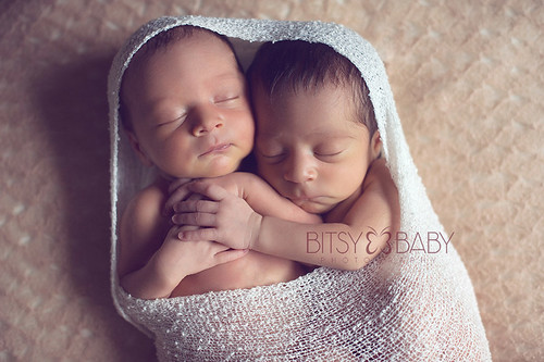 newborn twins photographer | by Bitsy Baby Photography [Rita]