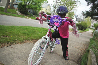 Lourdie Learnign to Ride a Bike April 15, 2012 2 | by stevendepolo