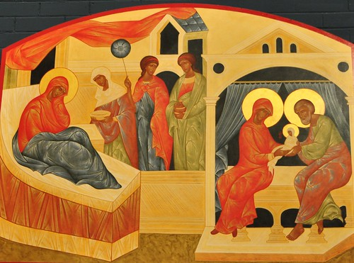 Nativity of the Theotokos Icon