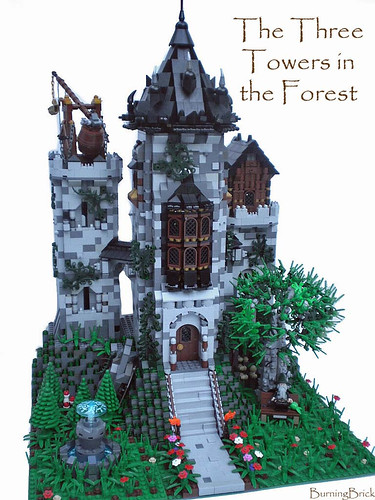 The Three Towers in the Forest | by Burning Brick