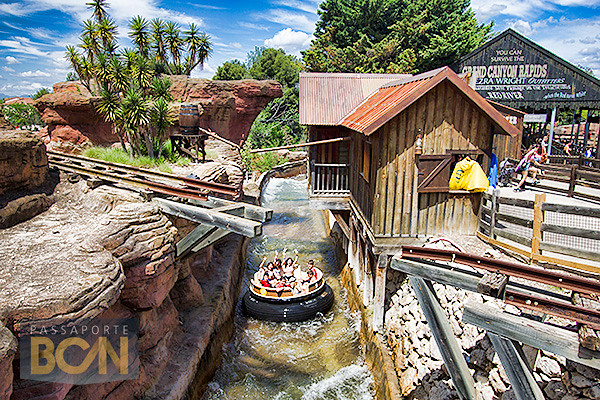 Grand Canyon Rapids, Port Aventura