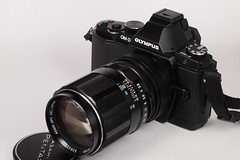 E-M5 setting : Pentax Takumar 120mm f/2.8
