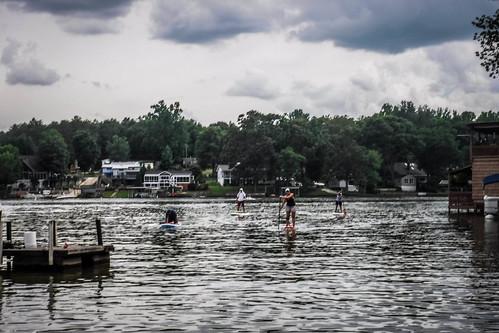 Kayaking and SUP on Saluda Lake-41