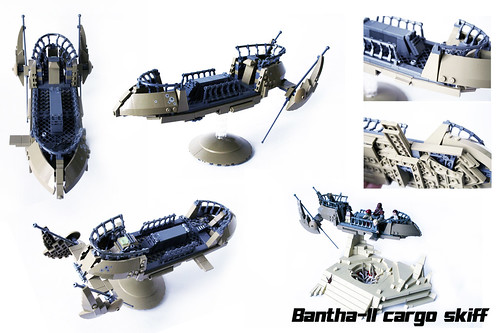 "Bantha-II cargo skiff overview | by ""Orion Pax"""
