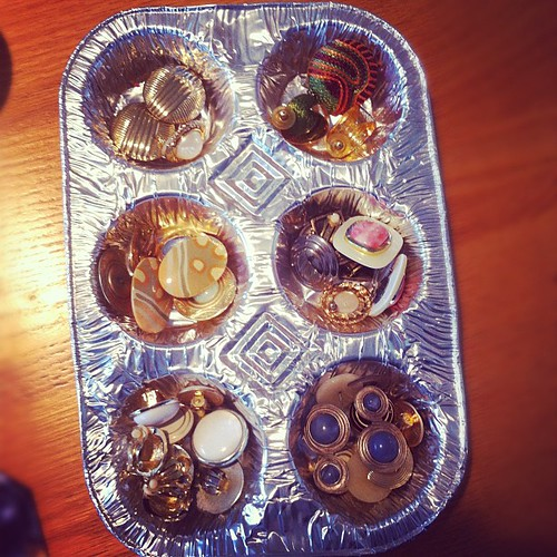 My Mom's Earring Cup Cake Tray | by stevegarfield