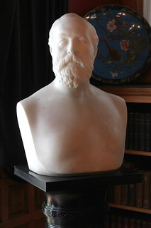 James A. Garfield National Historic Site - Lawnfield - Bust of James Garfield | by Itinerant Wanderer