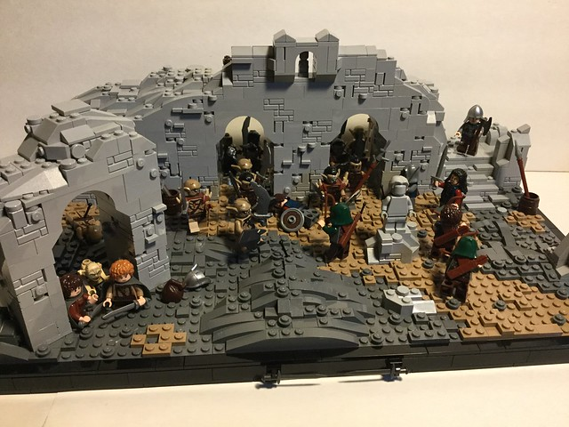 Osgiliath Under Siege (without Fell-Beast)