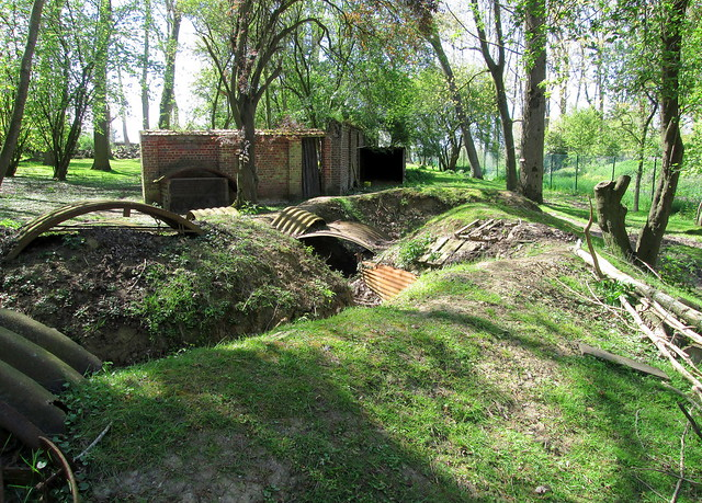 Trench Remnants, Hooge Crater Open Air Museum