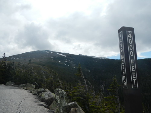 4,000 ft on 4/25 | by Mt.Washington Auto Road