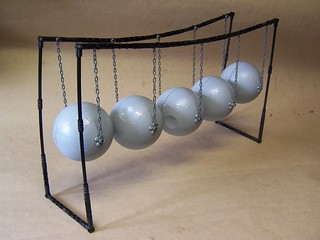 Newtons Cradle of Lego | by monsterbrick