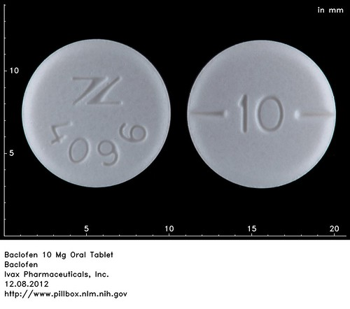 how to take baclofen tablets