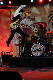 Lukas Nelson rocking out! | by Sunset Sessions Community
