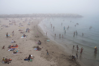 Bathers in the Mist | by marcovdz