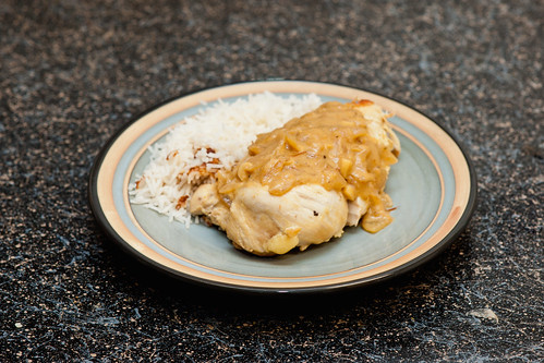 Chicken Dijon and Rice | by hsu box