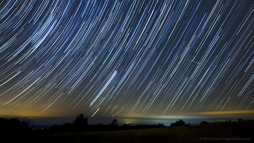 Perseid Meteor Startrails from Huckleberry Knob | by Star Mountain Media