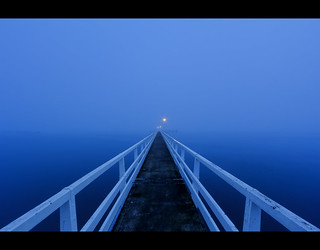 The Okahu Pier - Winter Blues part 2 | by Slightly Pear Shaped