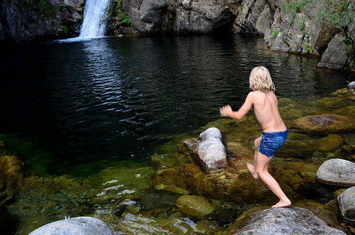 Wild Swimming in l'Ardèche | by The Hungry Cyclist