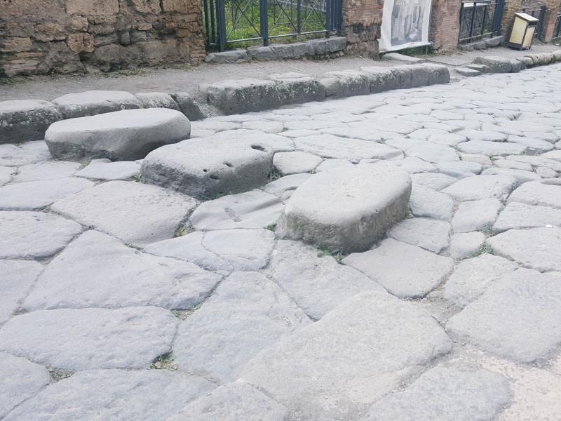 Pompeii street stepping stones