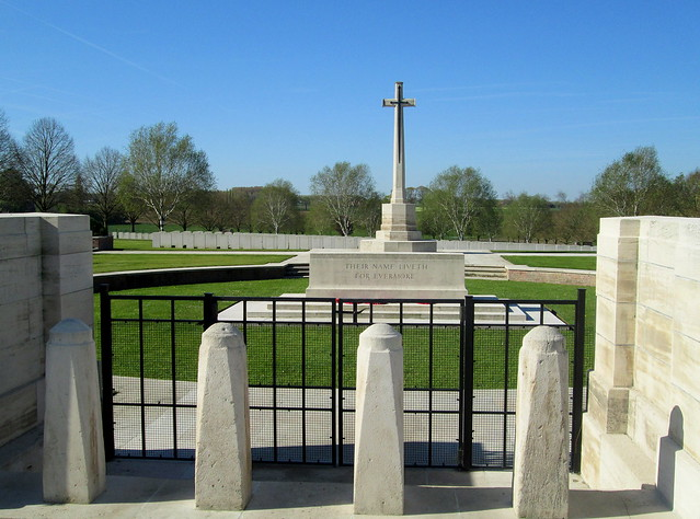 Hooge Crater Cemetery Entrance