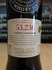SMWS 53.236 - Culinary cannonballs