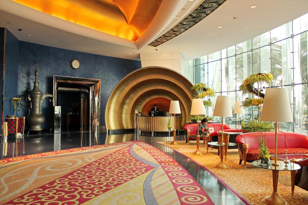 El hotel m s lujoso del mundo es el burj al arab en dubai for El arab hotel dubai