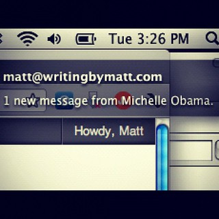 Freaks me out every time, Michelle | by WritingByMatt