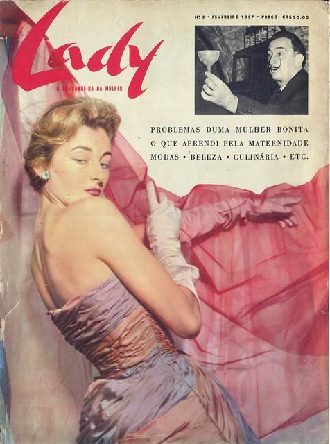 Lady, Nº 5, Fevereiro 1957 - capa