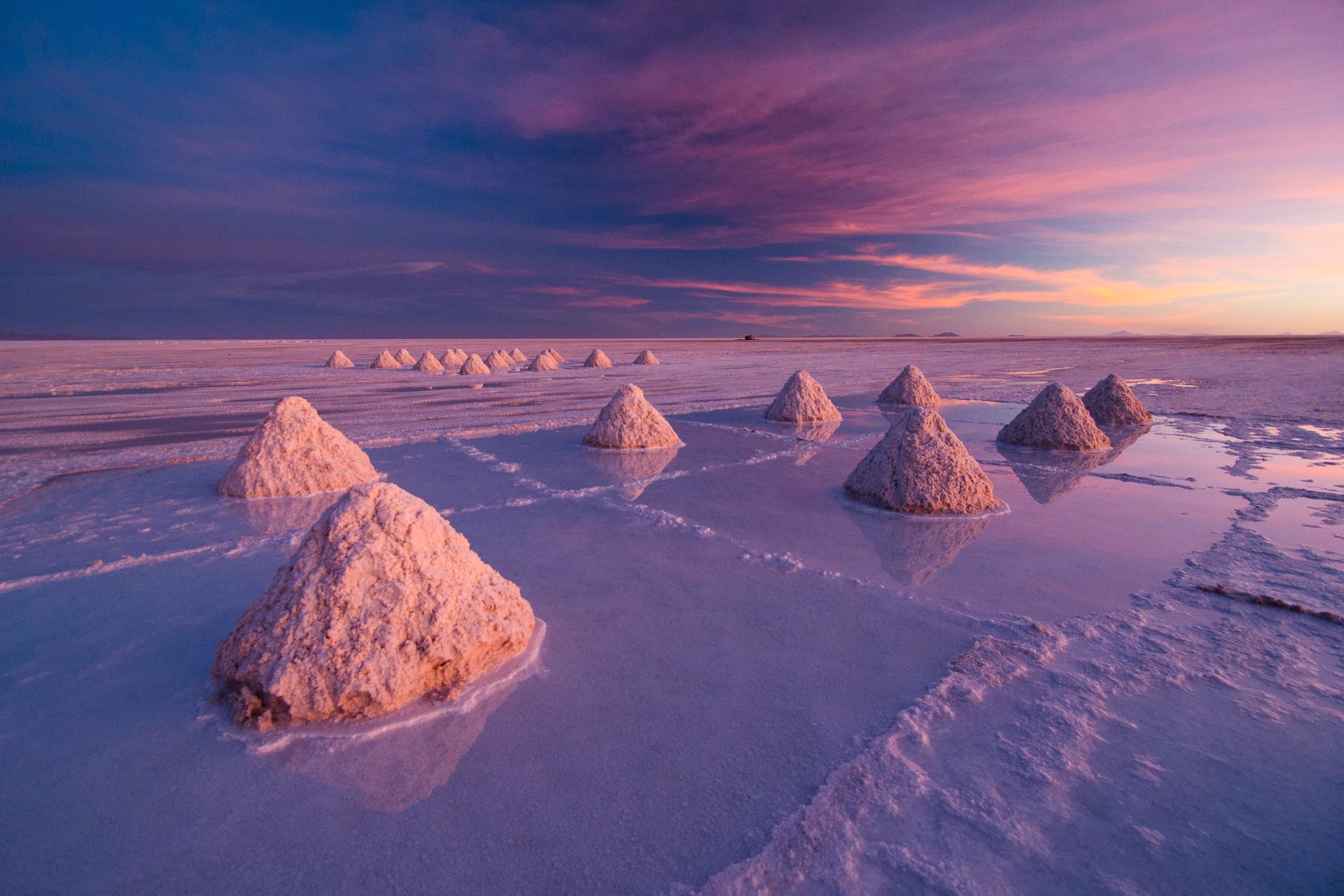 Salar de Uyuni Salt Flats, Bolivia.