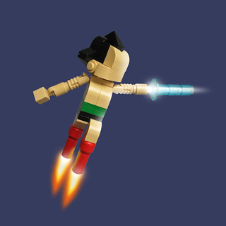 Lego Astro Boy | by Fredoichi