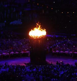 London Olympic Flame Lighting - Opening Ceremony | by Sum_of_Marc