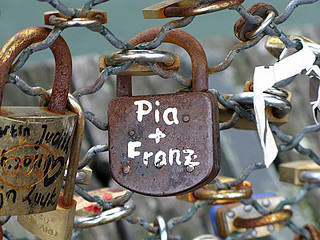 pia and franz - Pont des Arts, Paris | by David Lebovitz