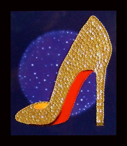 Homage to Louboutin | by Peggy Dembicer