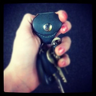 Love that my dad's car keys has a guitar pick carrier - genius | by LosRodriguezLife
