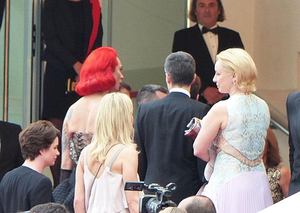 cheveux rouges