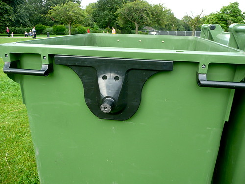 hidden animal face on the bin | by Scorpions and Centaurs