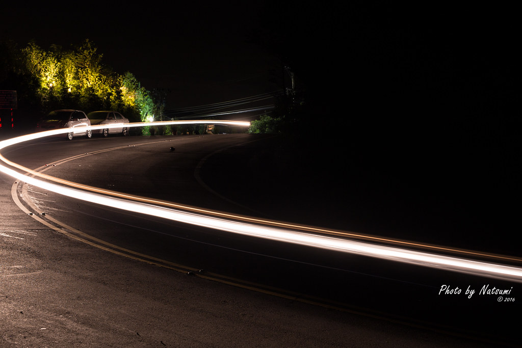 夜晚的五指 清晨的頭城