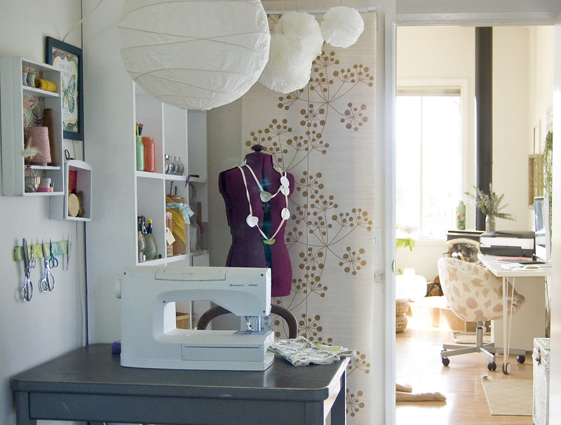 my little sewing nook