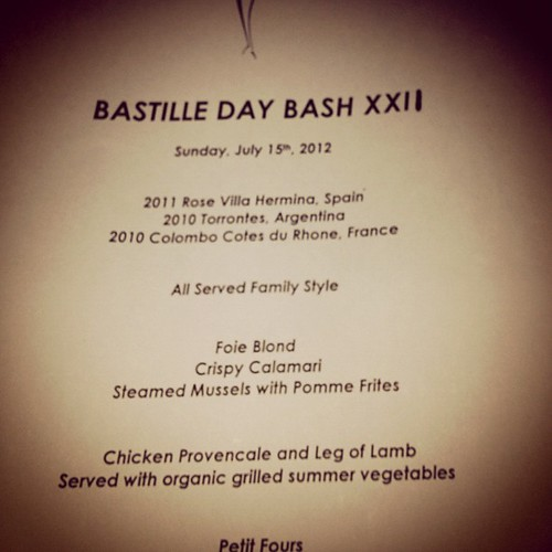 My birthday menu!! #bistro45 | by jmurtishaw